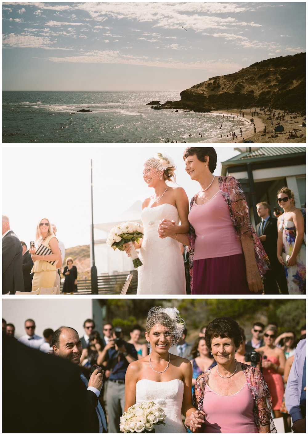 Beach Wedding All Smiles Sorrento