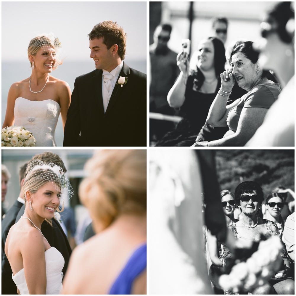 All Smile Sorrento Beach Wedding