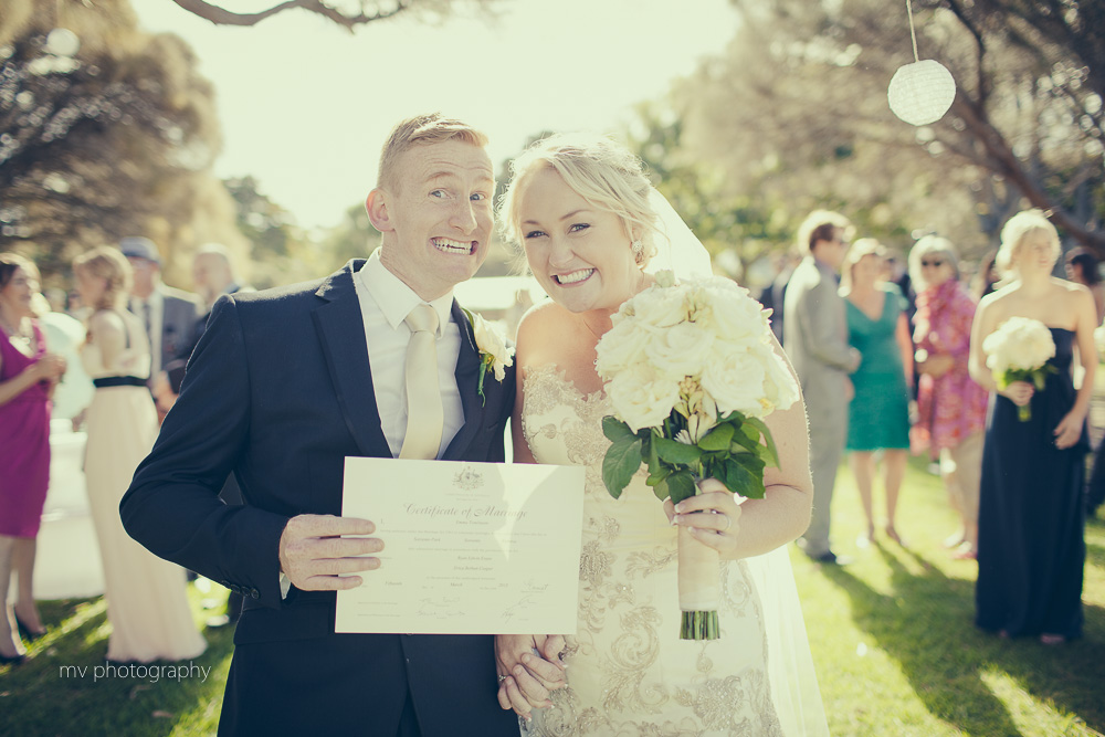Sorrento Beach Wedding All Smiles MV Photography