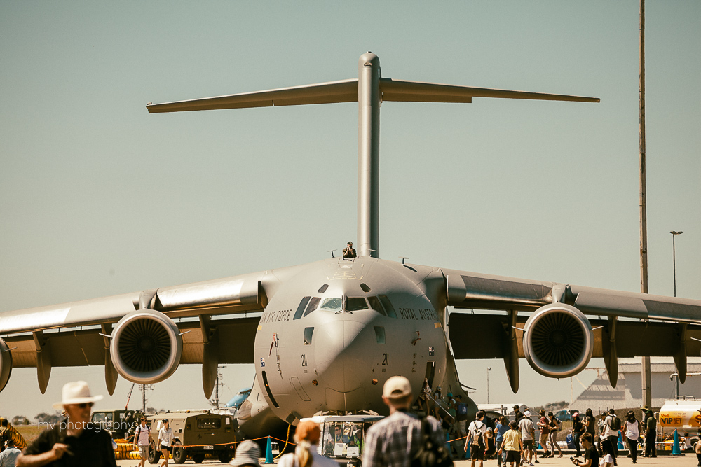 C-17 Loadmaster Avalon Air show