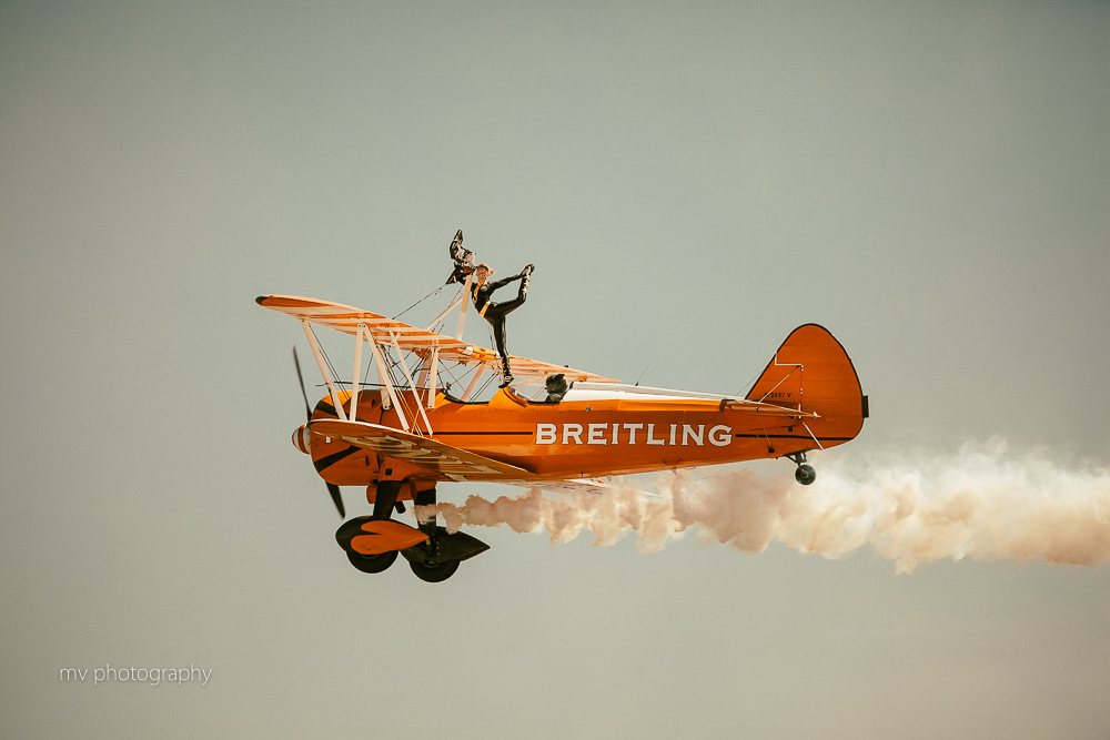 Breitling Wing walker team Avalon AIr show